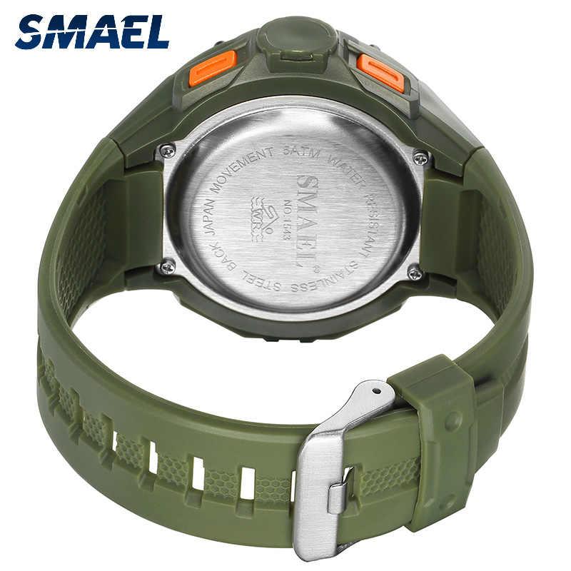 צבאי גדול חיוג ספורט גברים של שעונים צבא LED דיגיטלי S הלם 1543 הזוהר הגברים עמיד למים relogio masculino שעון