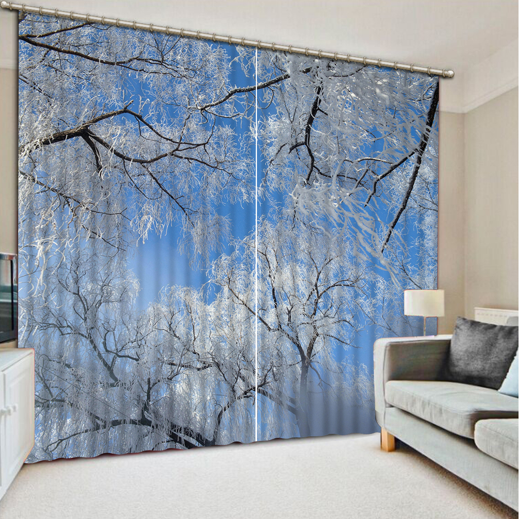 NoEnName_Null 3D Printing Curtains Lifelike HD 3D Visual Enjoyment Curtains Bedroom Living Room Sunshade Window Curtain CL-D030NoEnName_Null 3D Printing Curtains Lifelike HD 3D Visual Enjoyment Curtains Bedroom Living Room Sunshade Window Curtain CL-D030