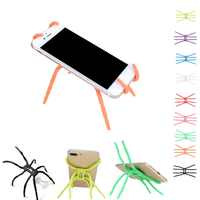 Universal Spider Mobile Phone Holder For iPhone 6 6S Plus Stent For Samsung S7 S6 S5 Holder Stand Support For Xiaomi Holder