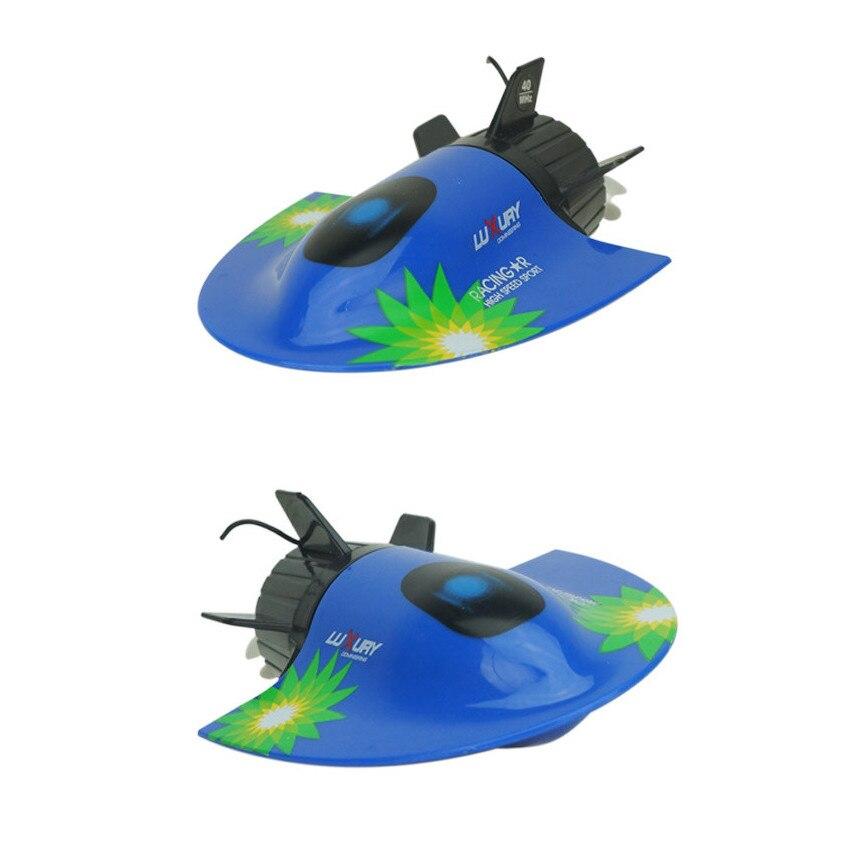 Mini RC Racing Bateau jouets avec 3ch Télécommande Radio Vitesse Électrique jouets Bateau Bateau Touristique pour garçons