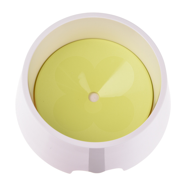 New Pet Dog Not Wet Mouth Drinking Bowl Dog Cat Health Feeding Fountain Cats Dogs Feeders Bowls with box