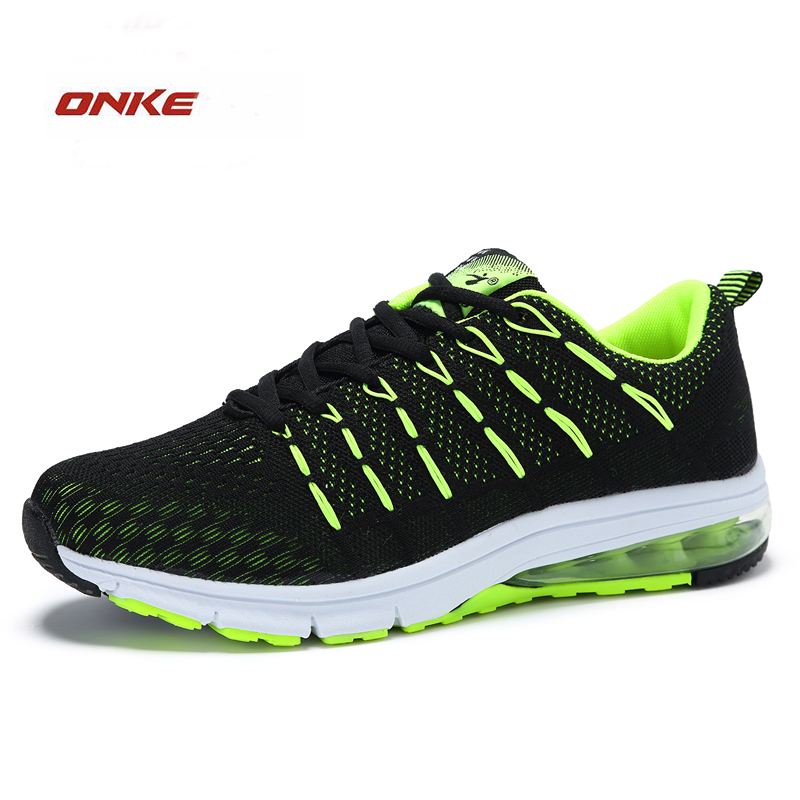 ONKE 2017 New Arrival Max Air Men Outside Sports Running Shoes Comfortable Flat Free Run Mix Colors Style With Low Price kettler run air