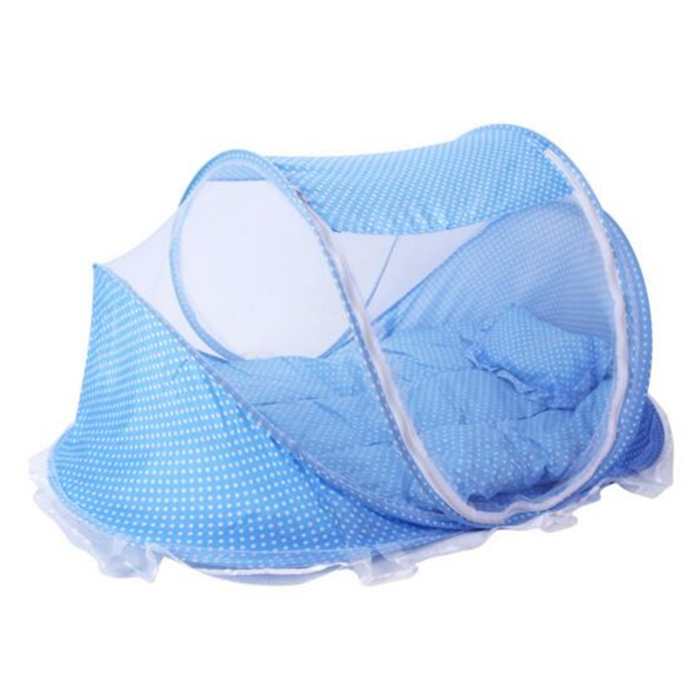 Baby bed in nigeria - Baby Crib Tent Mosquito Net Baby Bed Pillow Mat Newborn Cotton Travel Baby Sleeping Bed Barraca