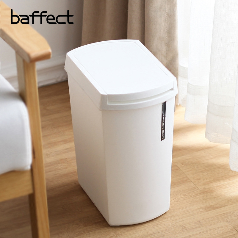 US $17.64 40% OFF|Push Cover Garbage Bin Plastic Home Dustbin Sundries  Barrel Storage Tank Bathroom Garbage Box Kitchen Garbage Trash Can  Vehicle-in ...