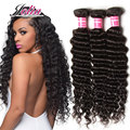 Cheap Malaysian Deep Curly Virgin Hair 7A  Malaysian Virgin Hair Deep Wave Weave 3 Bundle Deals 10-26Inch Unice Hair Company