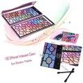 Cuidados de beleza 100 Cores Rose Makeup Palette Shimmer Eyeshadow Palette Kit Cosméticos Sombra de Olho Conjunto de Maquiagem Frete Grátis
