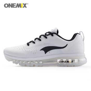 ONEMIX Sport Shoes Black Running Shoes for Men Summer Sneakers Light Walking Shoes Breathable Athletic Women Jogging Shoes Sale