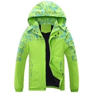 Image 3 - À prova dwaterproof água índice 10000mm à prova de vento impressão meninas meninos jaquetas quente criança casaco crianças outerwear crianças roupas para 120 170cm