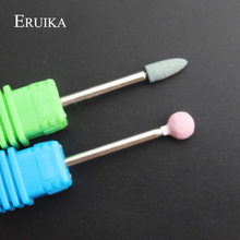 ERUIKA 2PC Ceramic Stone Nail Drill Bit Electric Mills For Manicure Machine Accessory Device For Manicure Nail Tools