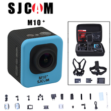 Original SJCAM M10 Plus WiFi 2K Novatek 96660 Diving 30M Waterproof 1080P 60FPS GYRO Action Camera connector set 8 option