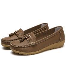 f61a620359 Borboleta-Nó Decoração Verão 2017 Cut Out Mulheres Sapatos Mulher  Enfermeira Moda Casual Loafer Flexível