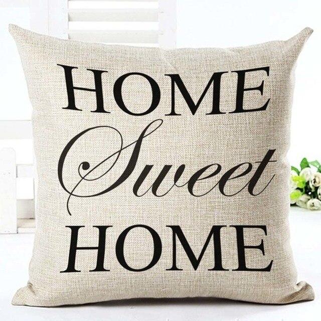 Home Linen Pillowcase Size: 45cm WT0057 Color: 6