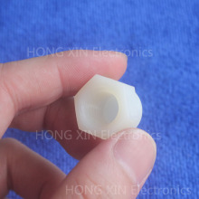 1Pcs Nylon Acorn Nut RoHS M3 M4 M5 M6 M8 M10 M12 White Nut Plastic Cap Nuts Decorative brand new high-quality Plastic hexagon цена