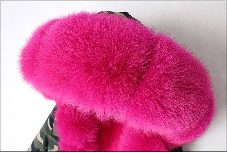 Parka Doublure Court Fausse 11 13 Streetwear 10 6 3 Femmes Manteau 14 4 8 Veste 2 5 Col 12 7 9 Rose Mode D'hiver De Fourrure Marque 16 1 15 Renard Véritable 2019 Naturel ppW8ZqOa