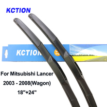 Windshield hybrid front wiper blade for Mitsubishi Lancer windscreen rear wiper natural rubber car accessories Fit U Hook Arms цена 2017