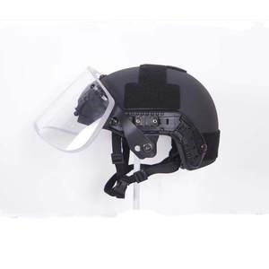 Wosport Visor-Shield-Set Helmet Nii-Level-Iii Aramid Tactical Ballistic Universal Us-Army