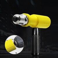 1 Set Cordless Electric Rivet Nut Gun Tool Riveting Drill Adaptor Insert Nut Riveting Tools Electric Drill Gun