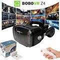 Z4 bobovr óculos de realidade virtual óculos 3d google caixa de papelão hot filme vr para iphone xiaomi + controle remoto