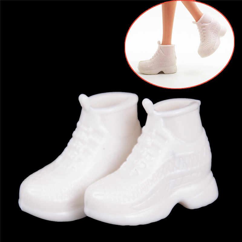 10 paires blanc poupée baskets chaussures mode pour poupée pour 30cm poupée pour poupée copain Ken poupées accessoires cadeau