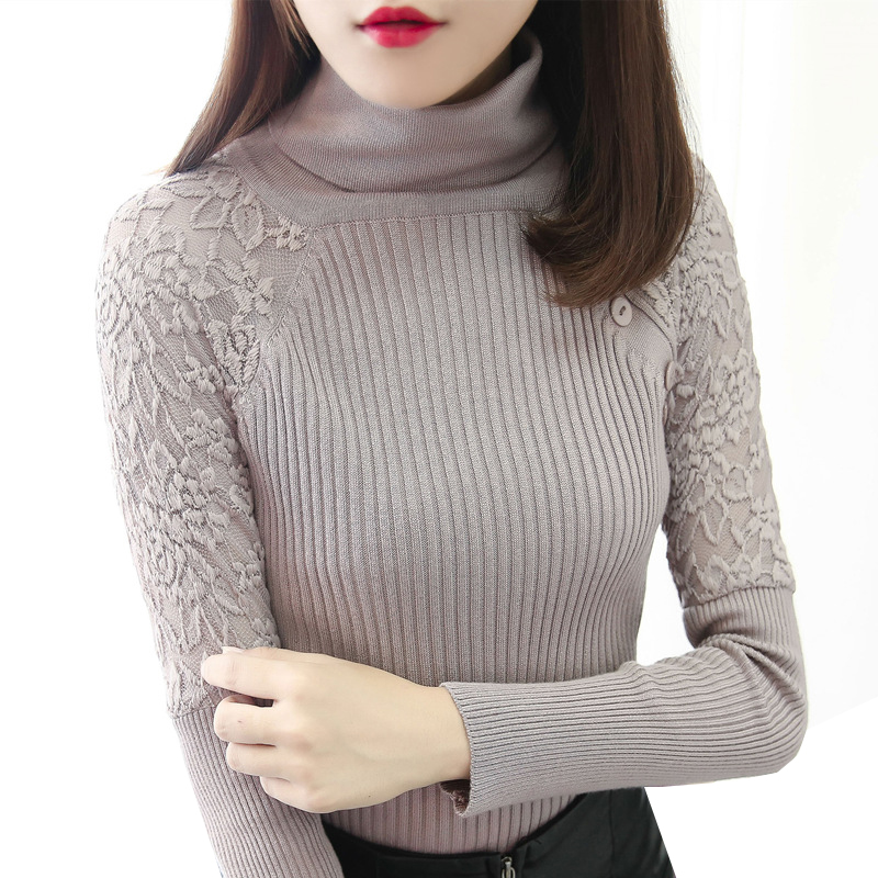 Little Girl Winter Warm Turtle Neck Long Sleeve Solid Blouse Top Bottoming Shirt