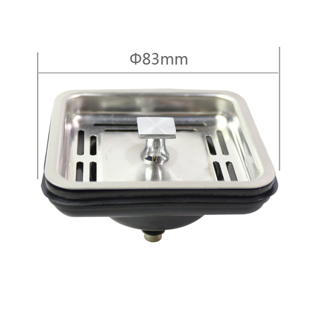 Kitchen Sink Drain Counter Designs Us 5 06 20 Off Talea Stainless Steel Square Strainer Plug Mesh Stopper Basket Waste Appliances In