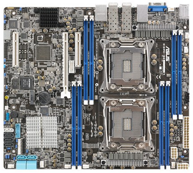 ASUS Z10PC-D8/10G-2S Dual X99 C612 Server Motherboard Ddr4