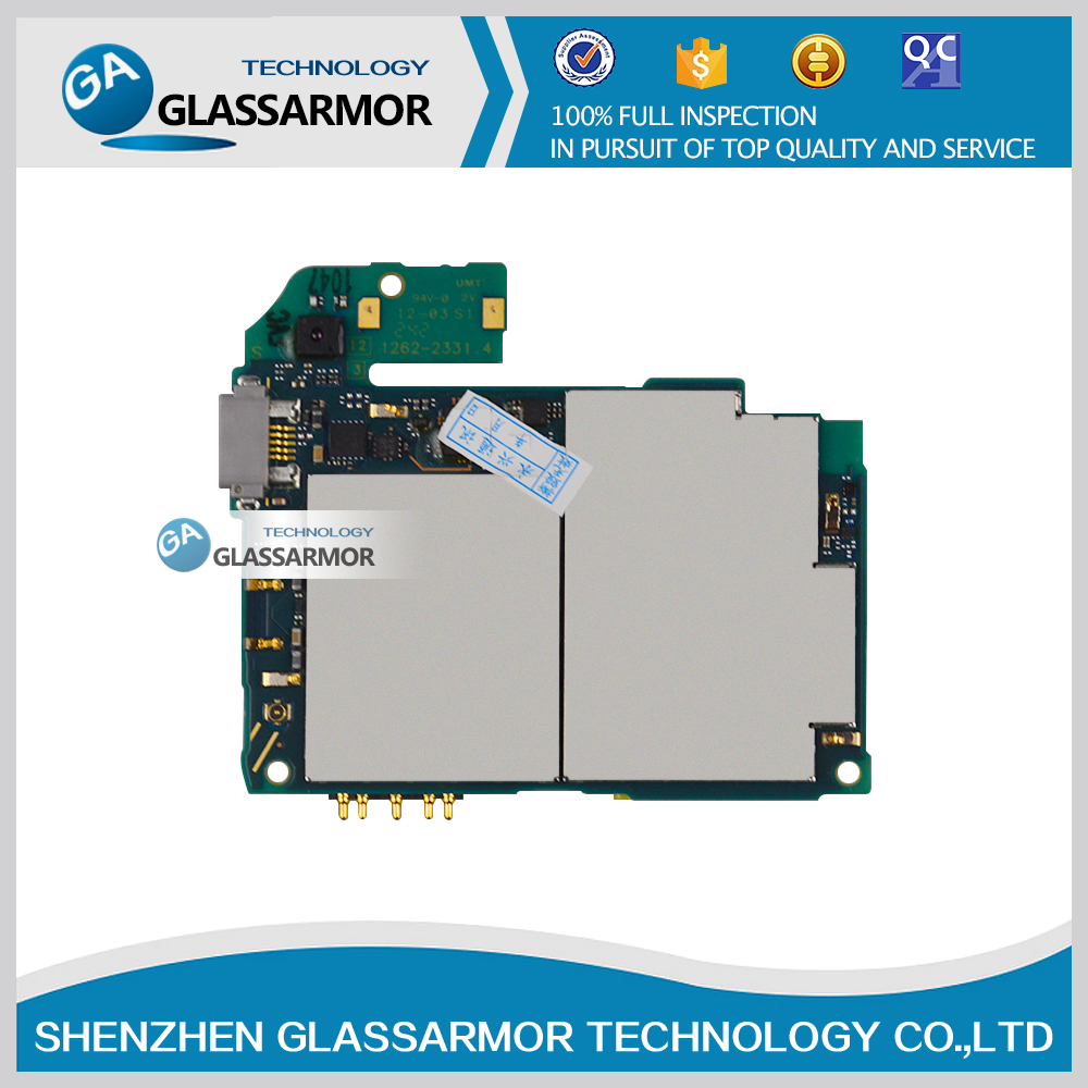 hight resolution of glassarmor original work well for sony xperia v lt25i motherboard mainboard board card best quality free shipping in mobile phone circuits from cellphones