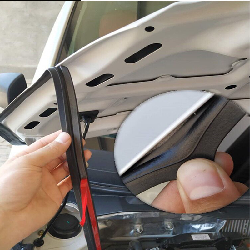 150cm Car Stickers Engine Hood Soundproof Sealing Strips For Kia Rio 3 2Ceed Toyota Corolla 2008 Avensis C HR RAV4 Mazda 3 6 CX5 in Car Stickers from Automobiles Motorcycles