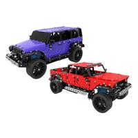 DIY Alloy Assembled Remote Control Toys Car Pickup Truck 1:16 Stainless Steel Four channel Off road Vehicle With Spare Kids Toys
