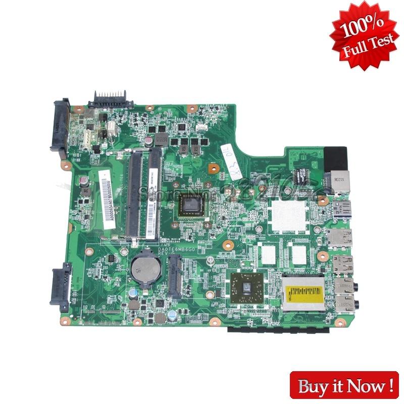 NOKOTION Laptop Motherboard For Toshiba Satellite L745D MAIN BOARD A000093490 DA0TE6MB6G0 DDR3 E350 CPUNOKOTION Laptop Motherboard For Toshiba Satellite L745D MAIN BOARD A000093490 DA0TE6MB6G0 DDR3 E350 CPU