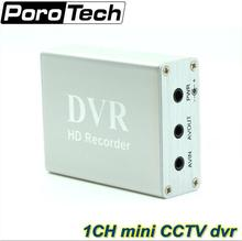 1 Channel Mini CCTV DVR Support SD Card Real-time Xbox HD Mini 1Ch DVR Board MPEG-4 Video Compression