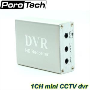 Image 1 - 1 Channel Mini CCTV DVR Support SD Card Real time Xbox HD Mini 1Ch DVR Board MPEG 4 Video Compression