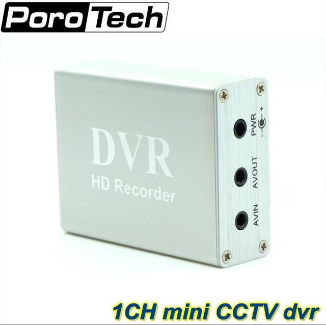 1 Channel Mini CCTV DVR Support SD Card Real time Xbox HD Mini 1Ch DVR Board MPEG 4 Video Compression