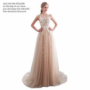ruthshen Vestidos De Gala Largos Sleeveless Prom Dresses Long Floor Length Party Gowns Elegant Robes De Soiree Formal Prom Dress 2