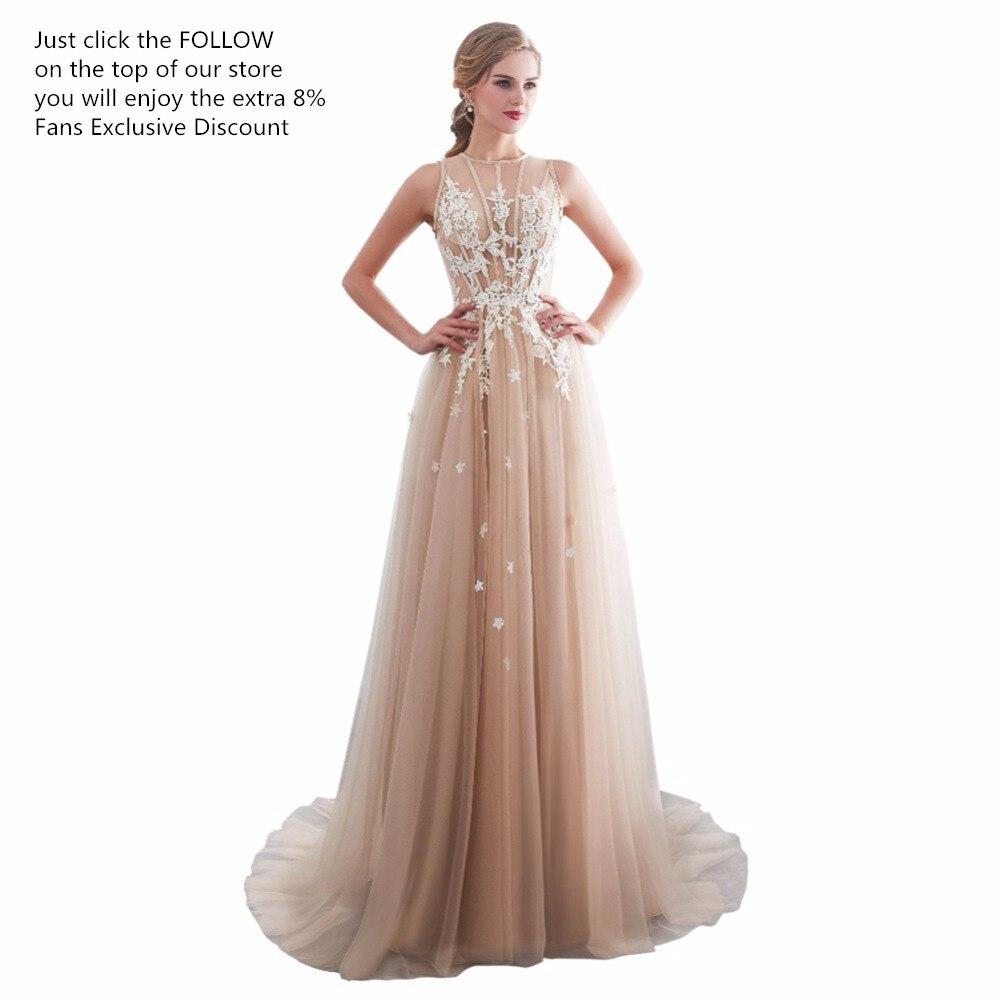 bbe7fc61006 Φορέματα για χορό αποφοίτησης ruthshen Vestidos De Gala Largos Sleeveless  Prom Dresses Long Floor Length Party Gowns Elegant Robes De Soiree Formal  Prom ...
