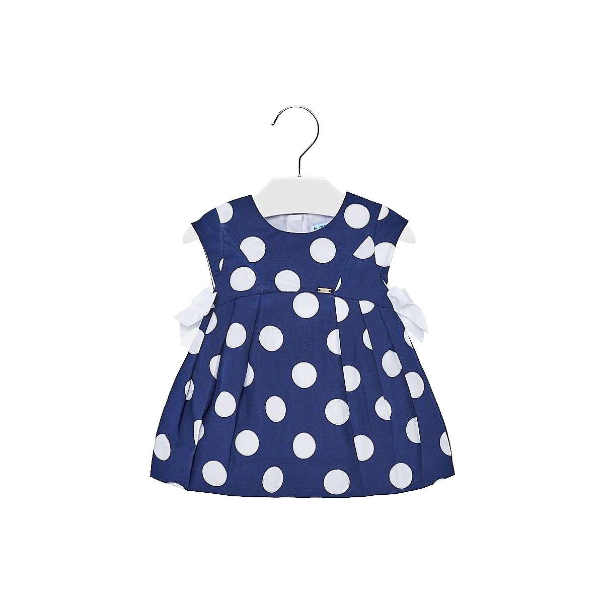 MAYORAL Dresses 10678674 dress for girls baby clothing fashion slim family long sleeve mesh dress for girls
