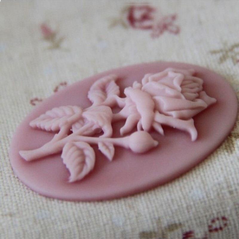 Mini Valentinstag Rosen Blumen Formigen Fondant Silikon Formen