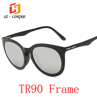 SZ LINGKE 2017 New Fashion Man Woman TR90 Pilot Polarized Sunglasses Classical Retro Driving Concise Eye