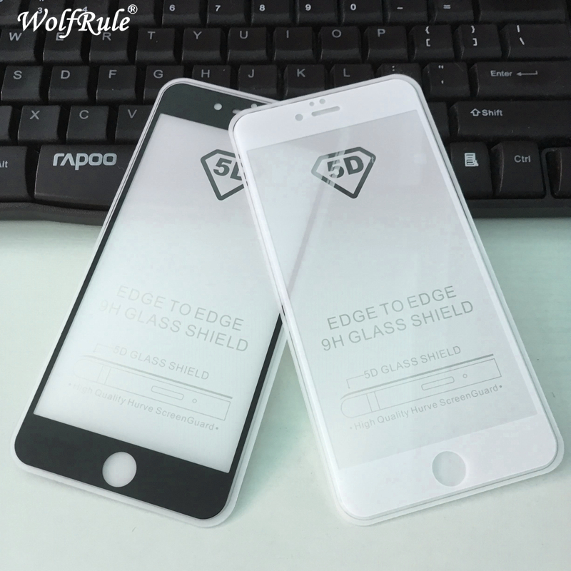 5D Full Glue Cover Tempered Glass For Iphone 6 Plus Screen Protector <font><b>Film</b></font> For Iphone 6s plus Full Glass For Apple <font><b>Iphone6</b></font> Plus image