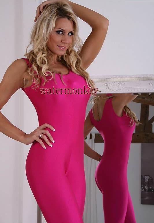Watermonkey Brand women Suit Lady Tights Sleeveless Jumpsuit Costume Bodysuit Lycra Spandex Suit
