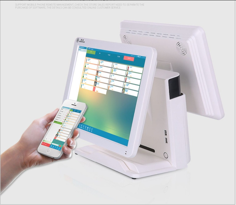 15 Inch All In One Touchscreen POS Order System For Restaurant P1501Q8B