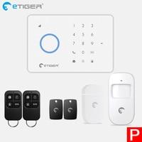 eTiger S3b GSM Alarm System home alarm Kit smart Home outdoor solar siren