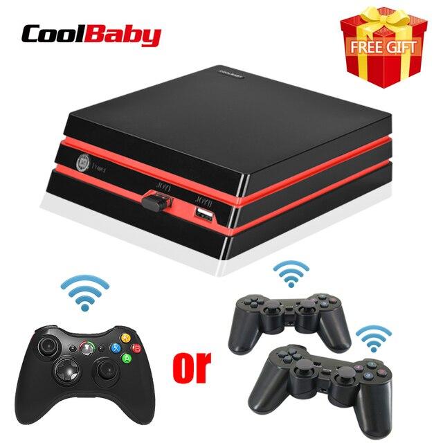 Coolbaby 2019 החדש HDMI/AV וידאו קונסולת משחקי 64 קצת תמיכת 4K פלט רטרו 600 קלאסי משפחת וידאו משחקי רטרו משחק קונסולה