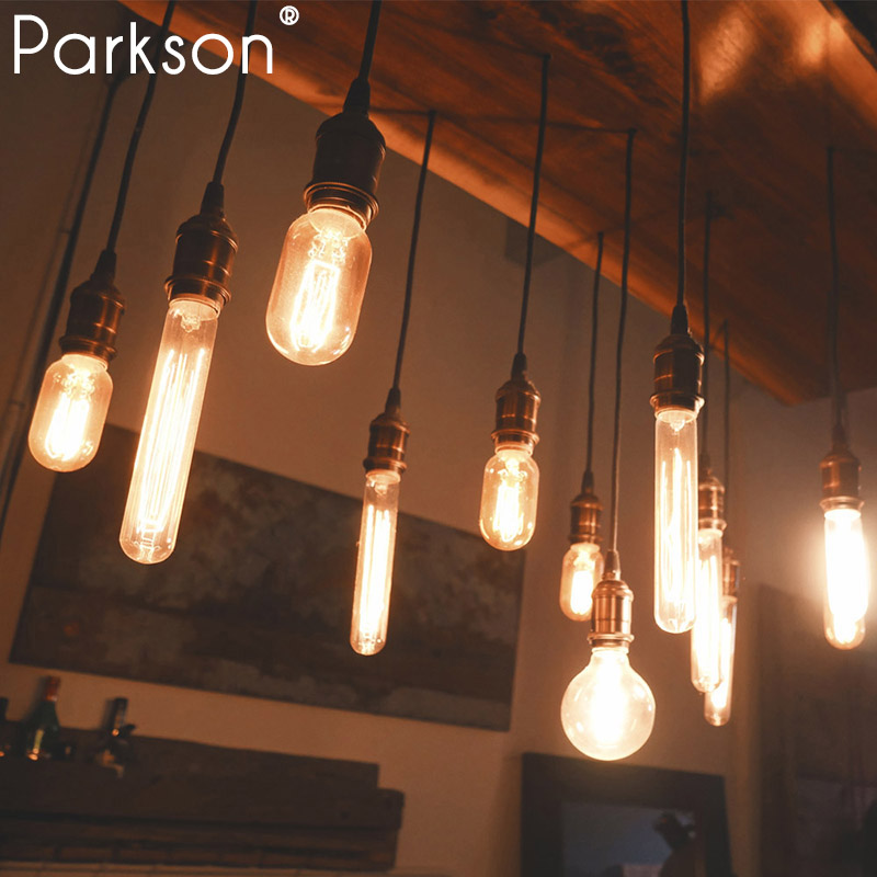 Modern Pendant Lights Loft Vintage Lamp Industrial Home Lighting E27 85-265V For Decor Lampshade Edison Bulb Lustre Luminaire
