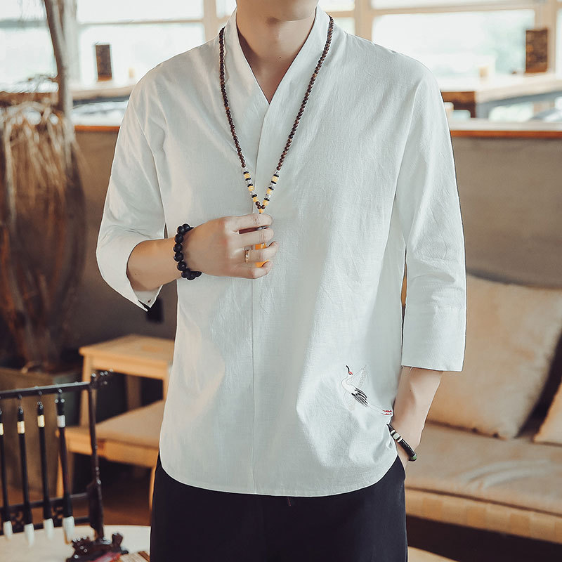 Retro Linen Shirts 1