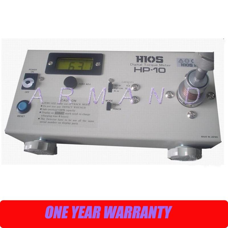 High Quality Torque Meter HIOS HP-10 Digital Torque Meter Tester hios 1 50 000