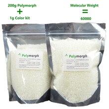 200 г pcl + 1 г цветовые пигменты moldable пластиковые instamorph Форма переключения вещь plastimake полиморф термопластичный для DIY hobbyis