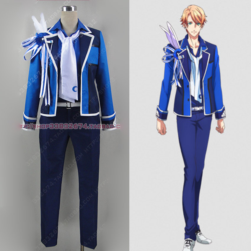 B-project Schedule Cosplay Costume Uniform Retail/Wholesale Halloween Christmas Party Any Size