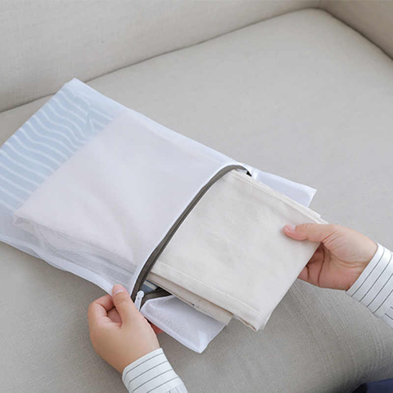 5 tamanho Sacos para Roupa De Malha para Máquinas De Lavar Roupa Cesta de Roupa Suja Com Zíper Grosso Meias Underwear Bra Saco de Lavagem de Proteção Durável