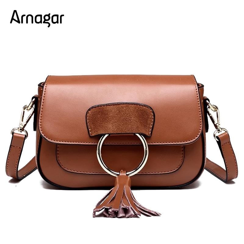 Arnagar luxury handbags women bags designer high quality genuine leather bags small women messenger bags 2017 lady shoulder bags